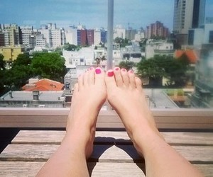 feet, landscape, and tan image