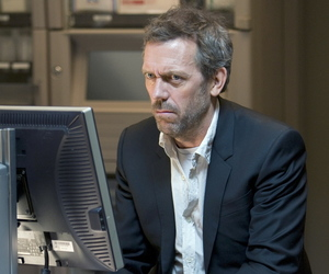 cane, doctor, and hugh laurie image