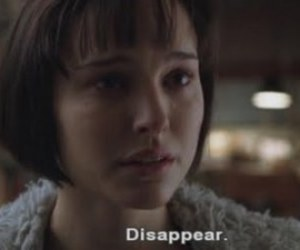 natalie portman, disappear, and closer image