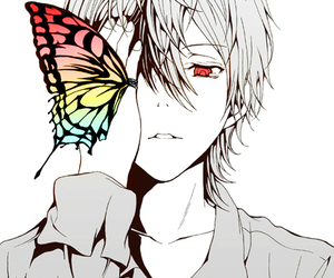 anime, zetsuen no tempest, and butterfly image