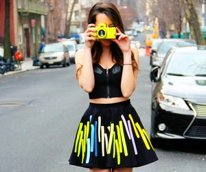 fashion, neon, and cute image