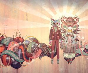 art, koralie, and supakitch image