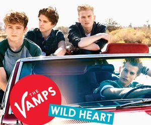 the vamps, wild heart, and connor ball image