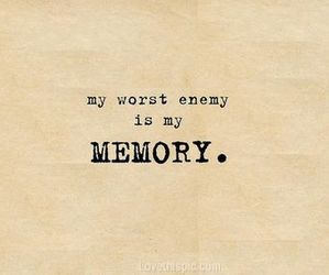 memories, enemy, and quote image