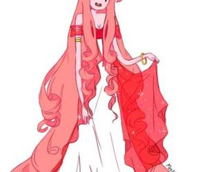 adventure time and princess bubblegum image
