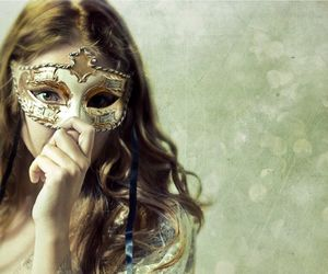fairytale and masquerade image
