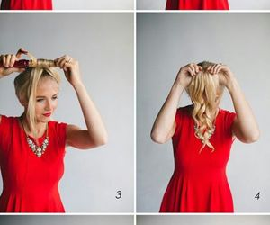 amazing, curls, and dress image