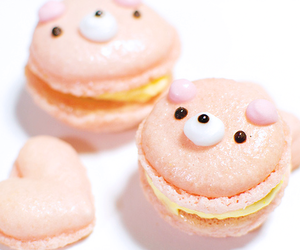 cute, food, and pink image