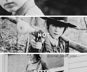 twd, chandler riggs, and the walking dead image