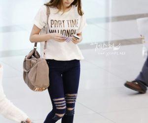 airport, kfashion, and kpop image