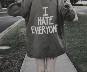 hate, grunge, and everyone image