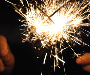 firework and sparklers image
