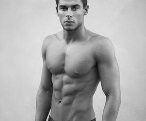 abs, fit, and hot guy image