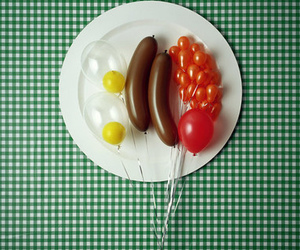 balloons, breakfast, and food image
