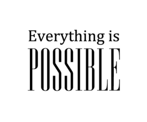possible, quotes, and everything image