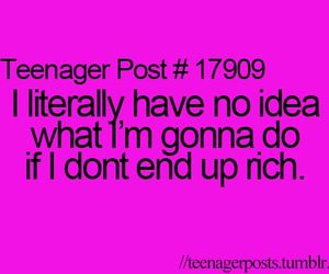 funny, rich, and me image