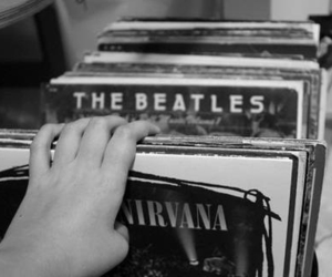 nirvana, the beatles, and music image