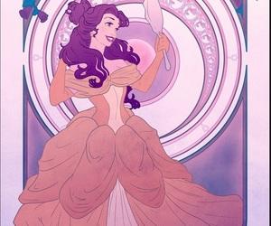 disney, belle, and vanity image