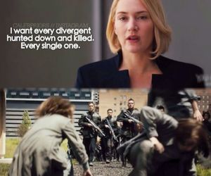 kill, movie, and divergent image