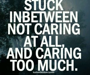 quote, caring, and text image
