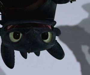 how to train your dragon, toothless, and dragon image