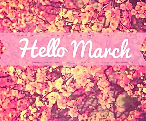 awesome, march, and flowers image