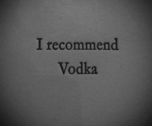 vodka, helps, and recommended drink image