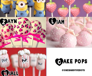 cake pops, delicious, and liam payne image