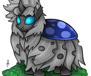 changeling, fluffle puff, and fim image