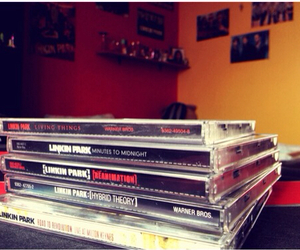 album, cd, and linkin park image
