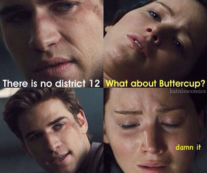 hunger games, buttercup, and funny image