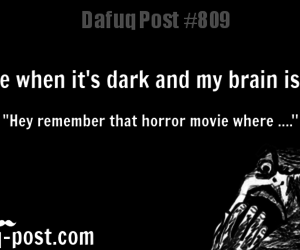 dark, lol, and brain image