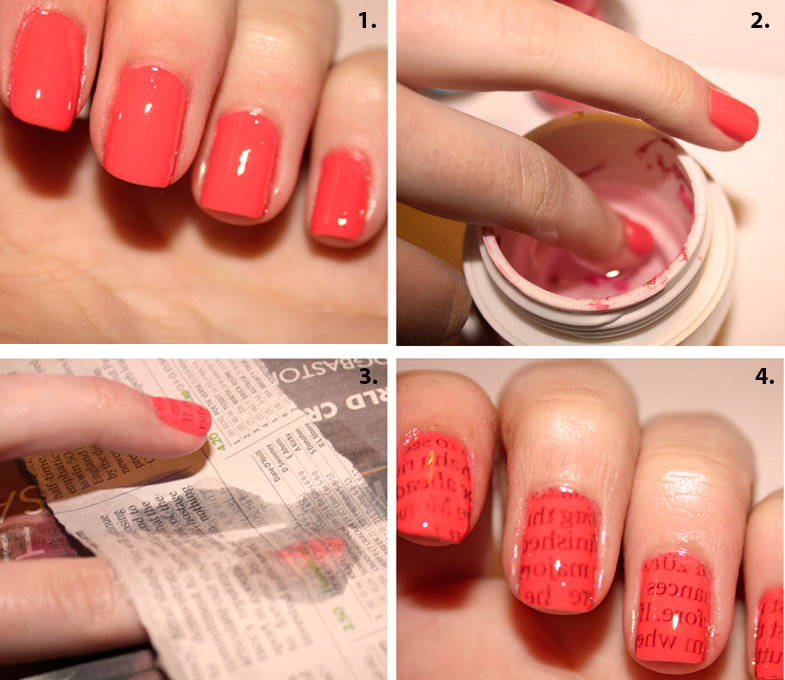 Tutorial Letters Nail Art Discovered By Ale Victoria Djesús