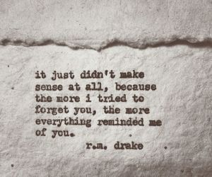 quote, rmdrake, and forget image