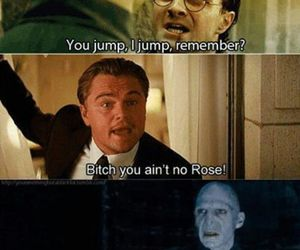 harry potter, funny, and titanic image