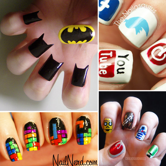 Original Designs Nail Art Discovered By Ale Victoria Djess