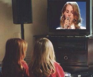 lana del rey, tv, and grunge image