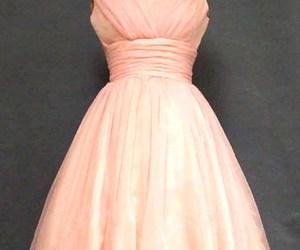 dress, glamorous, and pink image