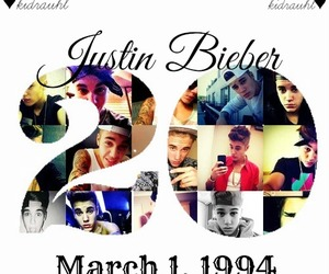 justin bieber, birthday, and march image