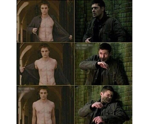 bobby, supernatural, and cass image