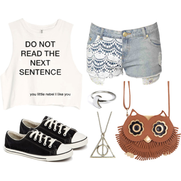 Rebel - Polyvore shared by Brooke on We Heart It