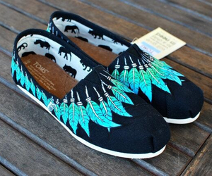 toms, feather, and cool image