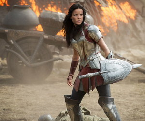 sif, Jaimie Alexander, and thor image