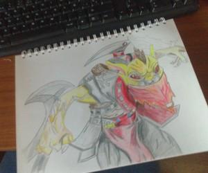bounty hunter, drawing, and dota 2 image