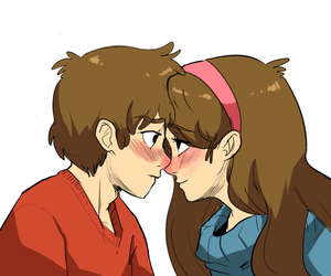 gravity falls and pinecest image