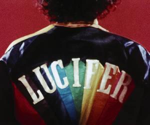 lucifer, jacket, and rainbow image