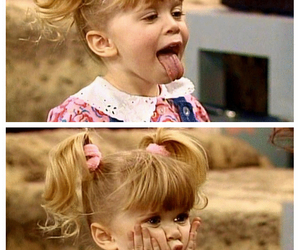 baby, fullhouse, and michelle image