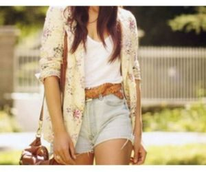 outfit, summer, and shorts image