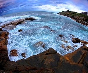 ocean, photography, and scenery image