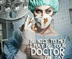 doctor, medicine, and be nice image